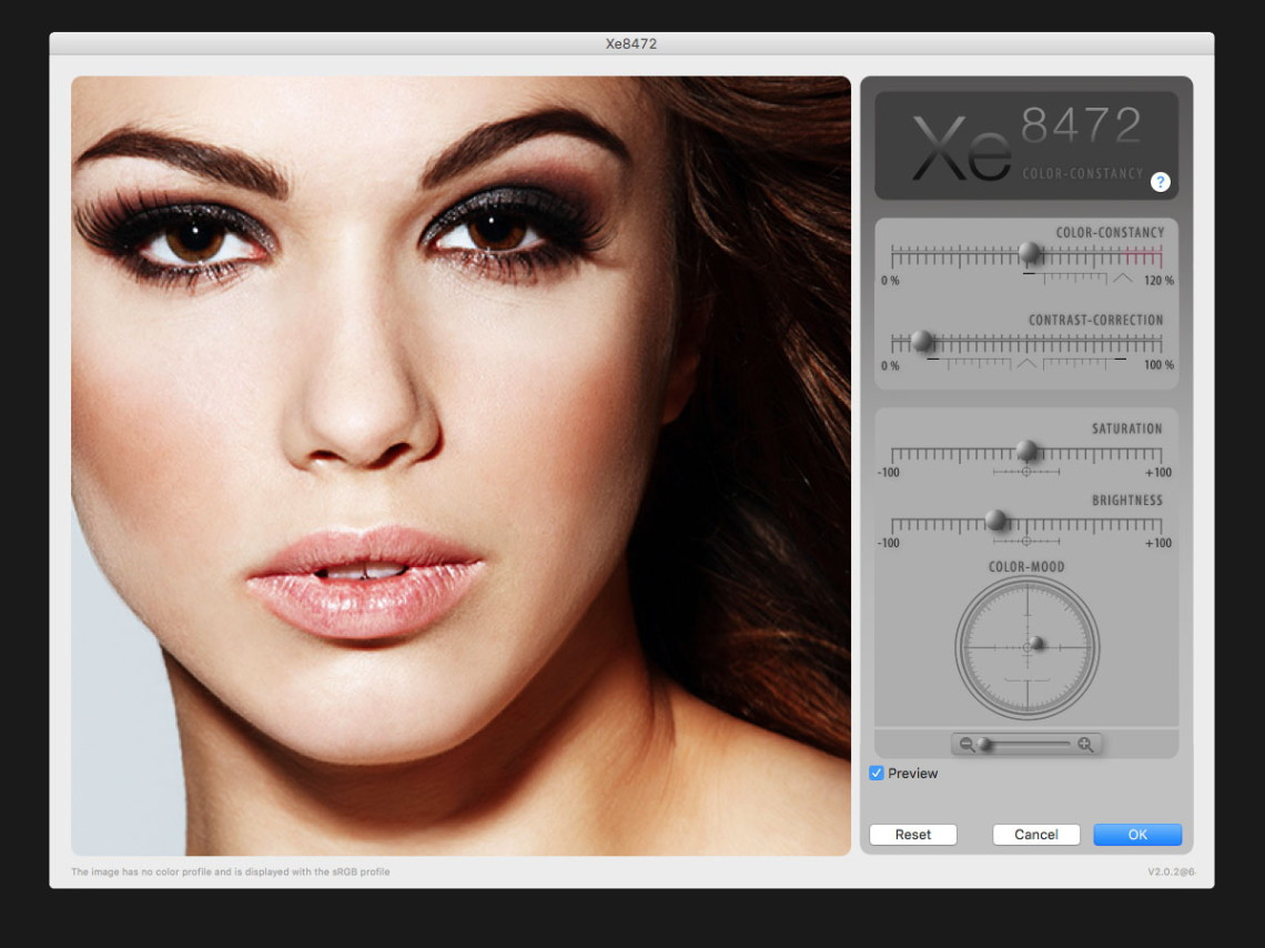Xe8472 for Professional Filmmakers simulates the human visual system Image